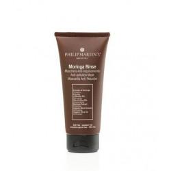 Plaukus valanti kaukė Philip Martin's Moringa Rinse PM997, saugo plaukus nuo neigiamo aplinkos poveikio, 75 ml