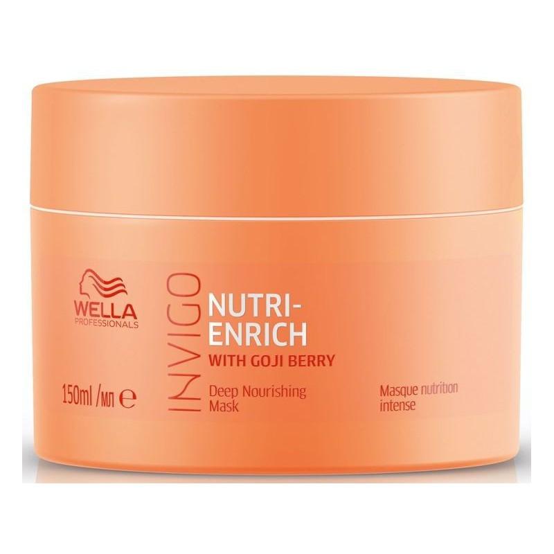 Maitinamoji puoselėjamoji kaukė Wella Professionals Invigo Nutri - Enrich Instant Nourishment for Dry or Distressed Hair Mask WEL81648688, 150 ml