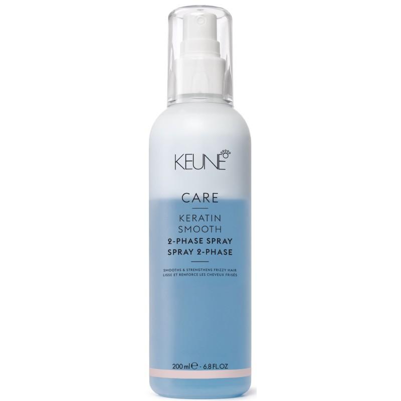 Dvifazis purškiklis plaukams Keune Care Keratin Smooth _K21361, su keratinu, 200 ml