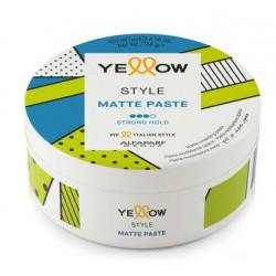 Pasta plaukų formavimui Yellow Style Matte Paste YE018402, matinė, 100 ml