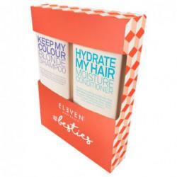 Plaukų priežiūros priemonių rinkinys Blond Hydrate Bestie Duo ELED071, skirtas šviesiems plaukams šampūnas, 300 ml, ir kondicionierius, 300 ml, - Limited edition