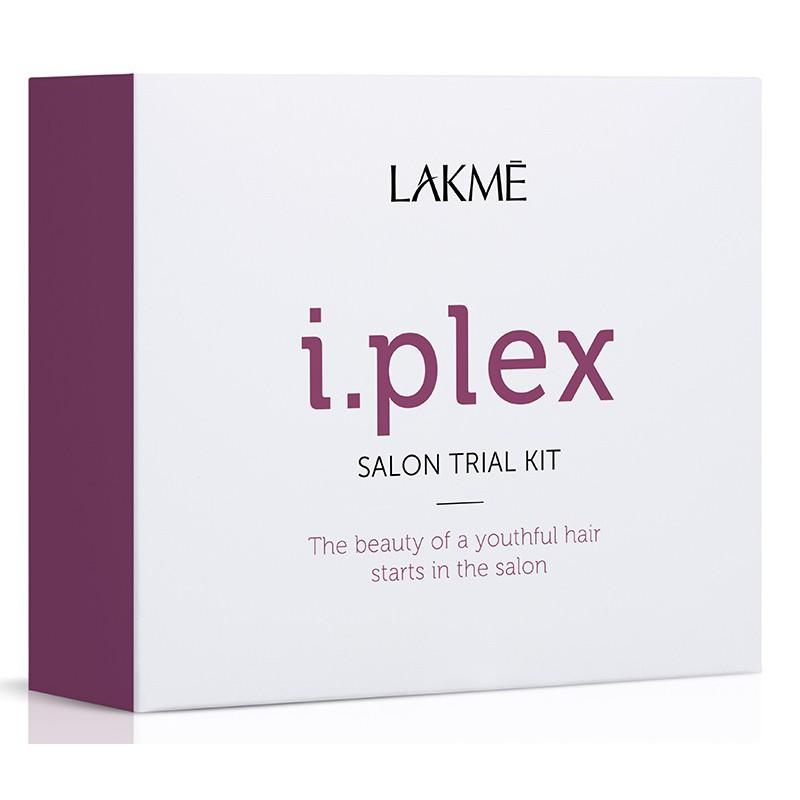 Atstatomųjų plaukų priežiūros priemonių rinkinys Lakme i.plex Trial Kit LAK49002, 3x100 ml