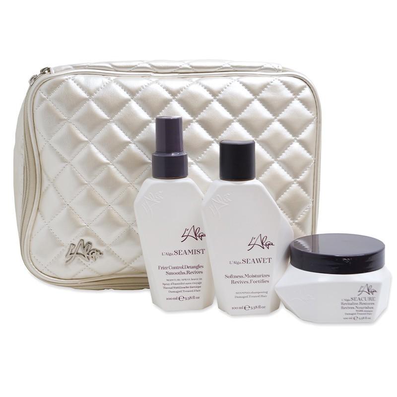 Plaukų priežiūros priemonių rinkinys L'Alga Seazone Beauty Bag LALA600401