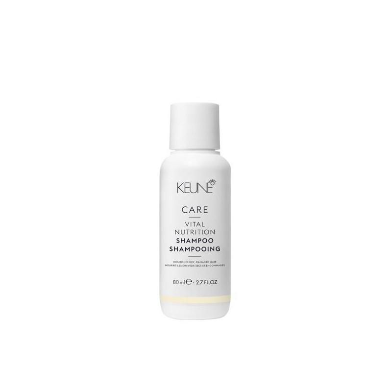 Šampūnas plaukams Keune Care Vital Nutrition _K21319, sausiems plaukams ir galvos odai, 80 ml
