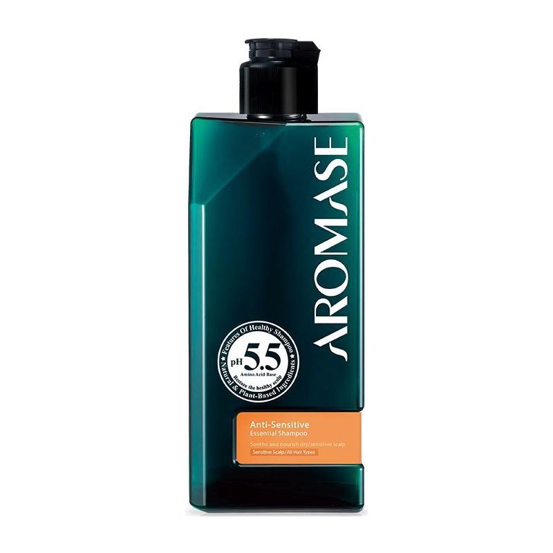 Šampūnas plaukams jautriai galvos odai Aromase Anti-sensitive Essential Shampoo ARSP9065, 90 ml