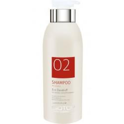 Šampūnas plaukams Biotop Professional 02 Eco Dandruff Shampoo BIO25424, nuo pleiskanų, 330 ml