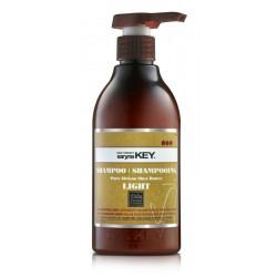 Plaukų šampūnas Saryna KEY Damage Light Pure African Shea Shampoo su taukmedžio sviestu, atstatomasis, skirtas pažeistiems plaukams, neapsunkina plaukų, 500 ml