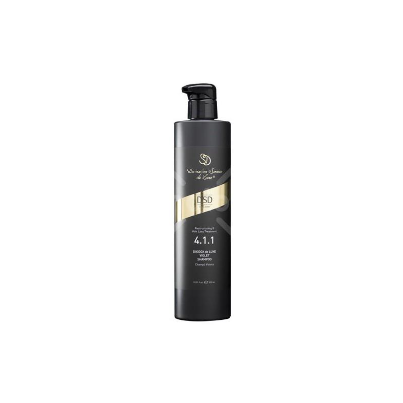 Šampūnas šviesiems plaukams Dixidox De Luxe Violet Shampoo DSD4.1.1, 500 ml