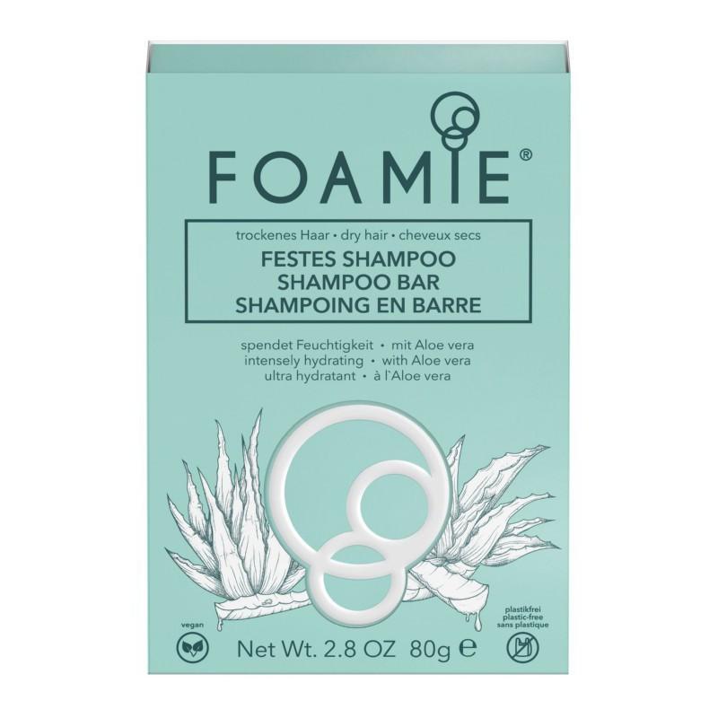 Kietasis šampūnas plaukams Foamie Shampoo Bar Aloe You Vera Much FMSBAV1