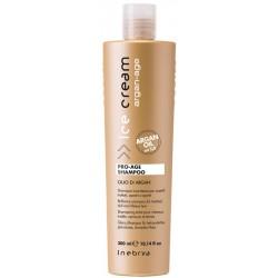 Šampūnas plaukams su argano aliejumi Inebrya Ice Cream Argan-Age ICE6684, 300 ml