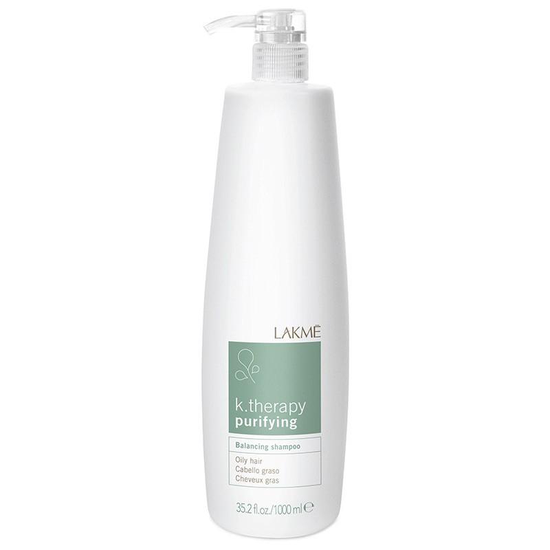 Šampūnas riebiems plaukams Lakme k.therapy purifying LAK43213, 1000 ml