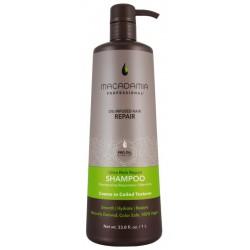 Ypač drėkinamasis šampūnas sausiems, pažeistiems plaukams, Macadamia Ultra Rich Repair Shampoo, MAM100302, 1000 ml