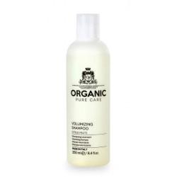 Apimties suteikiantis šampūnas plaukams Organic Pure Care Wellness Volumizing Shampoo ORGS430, valomasis, tinka riebiems plaukams, 250 ml