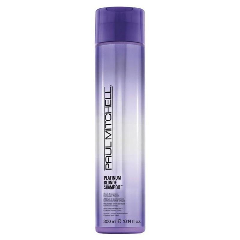 Šviesių plaukų šampūnas Paul Mitchell Platinum Blonde Shampoo PAUL110023, skirtas šviesintiems plaukams, 300 ml