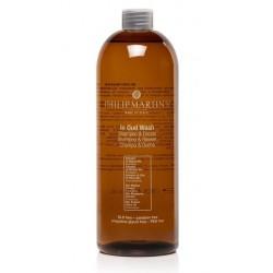 Šampūnas - dušo želė Philip Martin's In Oud Wash PM933, maitina ir drėkina plaukus bei odą, 1000 ml