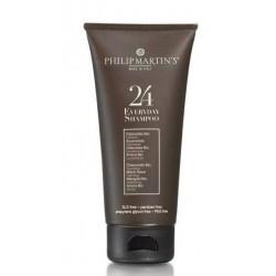 Kasdienis plaukų šampūnas Philip Martin's 24 Everyday Shampoo PM988, išvalo galvos odą ir plaukus, 75 ml