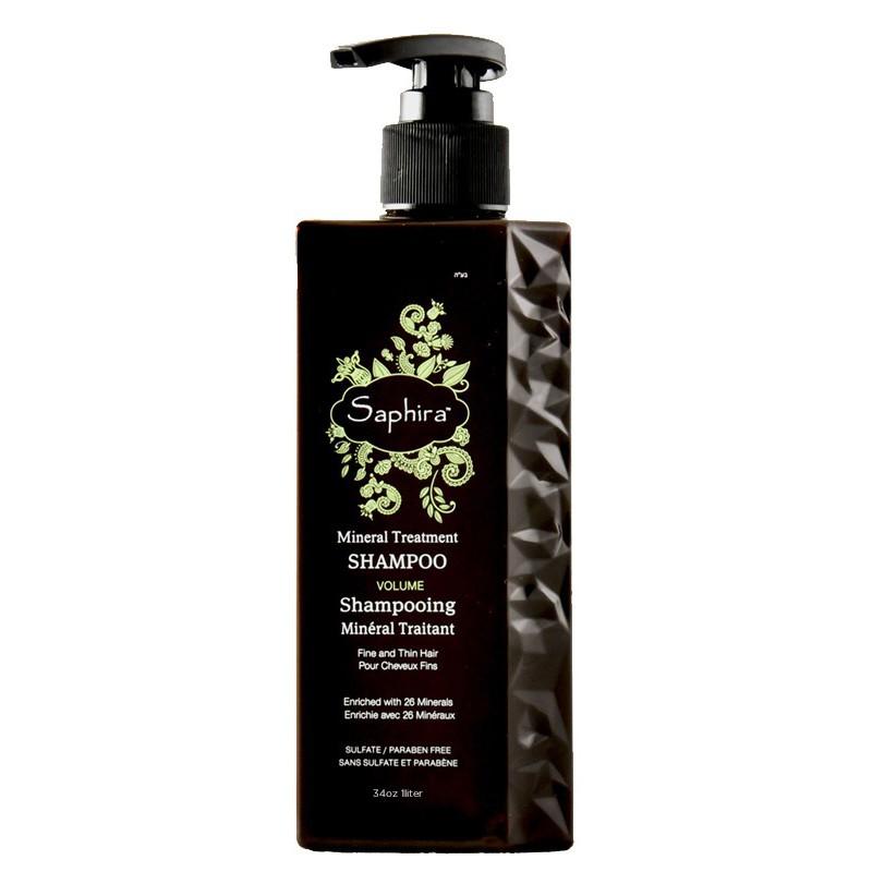 Atstatomasis šampūnas plaukams Saphira Mineral Treatment Shampoo SAFMTS4 su Negyvosios jūros mineralais, 1000 ml