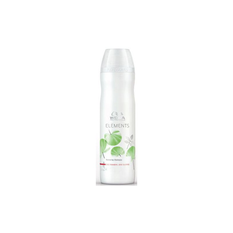 Atkuriamasis šampūnas Wella Professionals Elements Free of Sulfates, Parabens and Artificial Colorants Shampoo WEL81466017, 250 ml