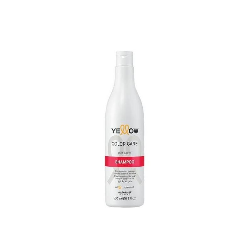 Šampūnas dažytiems plaukams Yellow Color Care Shampoo YE017107, 500 ml
