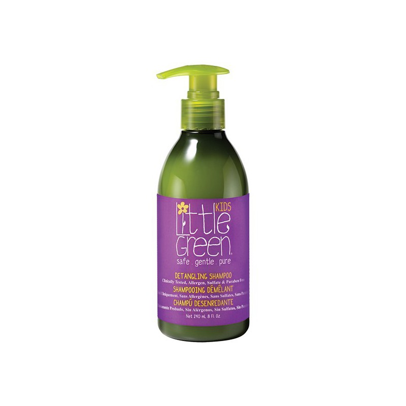 Plaukų šampūnas vaikams Little Green Kids Detangling Shampoo LGKDTS8, 240 ml, palengvina plaukų iššukavimą