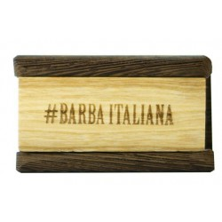 Šepetys barzdos plaukams Barba Italiana Brush 24h For Beard-Mustache Solengo, BI770