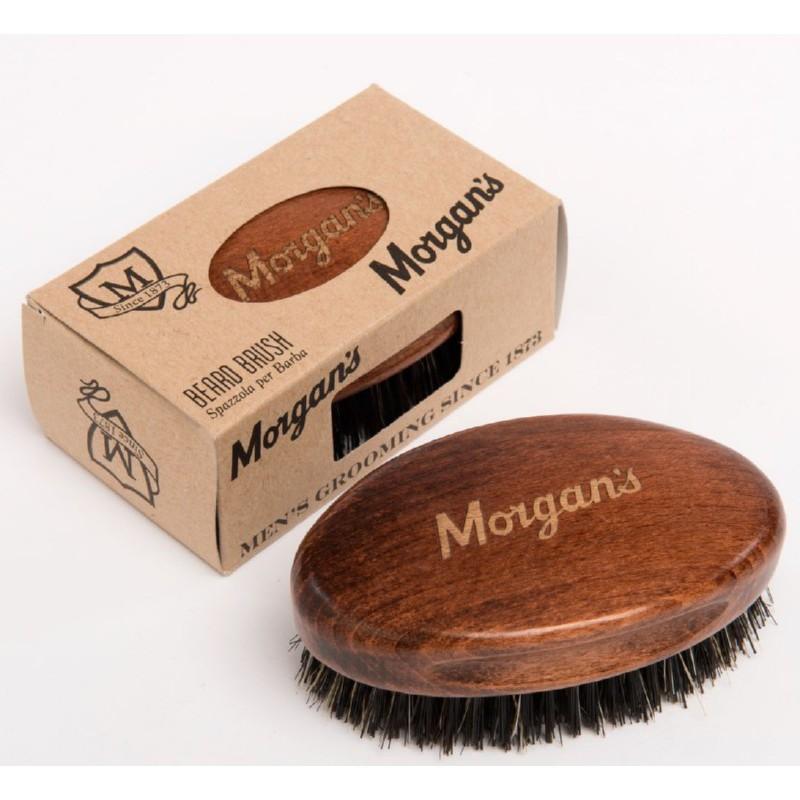 Šepetys barzdai Morgan's Pomade Beard Brush MPM063