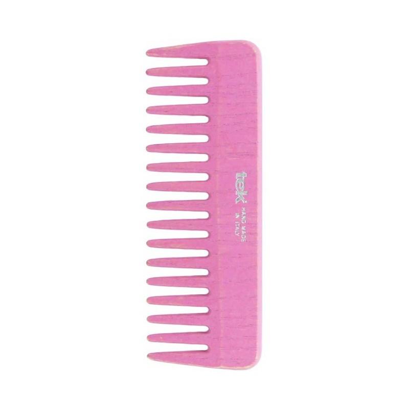 Plaukų šukos TEK Natural 2030-22, retos, rožinės