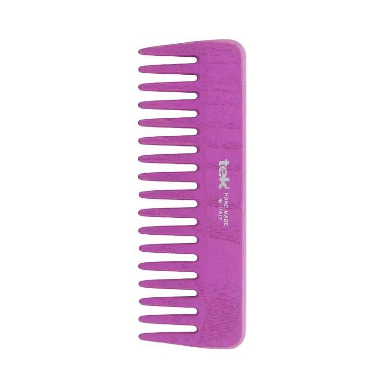 Plaukų šukos TEK Natural 2030-23, retos, violetinės