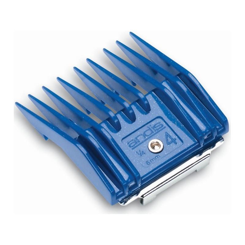 Šukos Andis AN-12340 gyvūnų plaukų kirpimo mašinėlėms AG, MBG, 4 dydžio