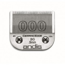 Peiliukai plaukų kirpimo mašinėlėms ANDIS AN-64480, 0,5 mm ilgio