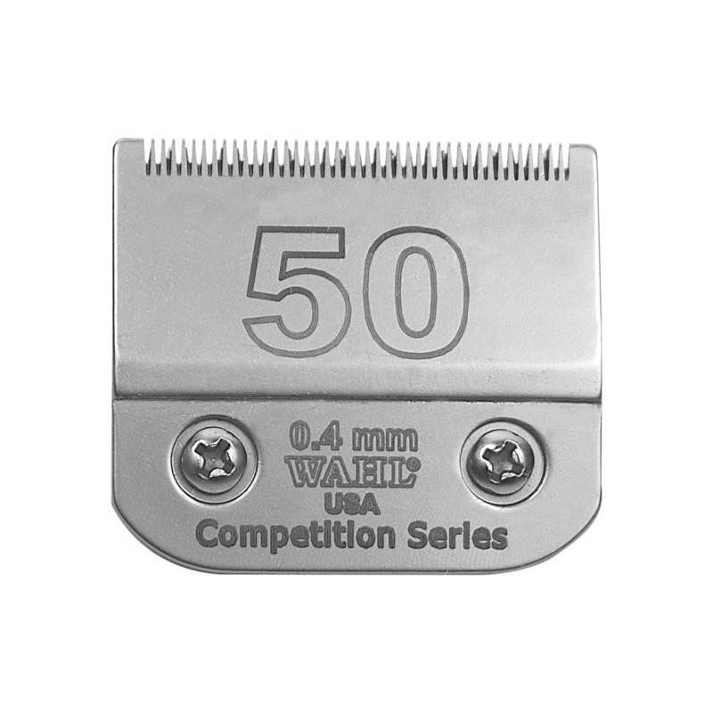 Peiliukas gyvūnų kirpimo mašinėlei Wahl Pro Competition Series Blade 02350-116, 0,4 mm, Nr. 50, tinka modeliams: KM10™, KM5™, KM2, KM2 Deluxe, Power Grip®, SS-Pro®, Stable Pro® Plus