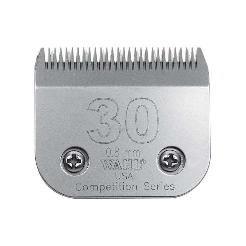 Peiliukas gyvūnų kirpimo mašinėlei Wahl Pro Competition Series Blade 02355-116, 0,8 mm, Nr. 30, tinka modeliams: KM10™, KM5™, KM2, KM2 Deluxe, Power Grip®, SS-Pro®, Stable Pro® Plus