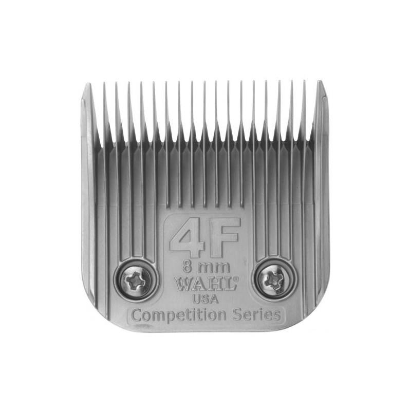 Peiliukas gyvūnų kirpimo mašinėlei Wahl Pro Competition Series Blade 02375-116, 8 mm, Nr. 4F, tinka modeliams: KM10™, KM5™, KM2, KM2 Deluxe, Power Grip®, SS-Pro®, Stable Pro® Plus