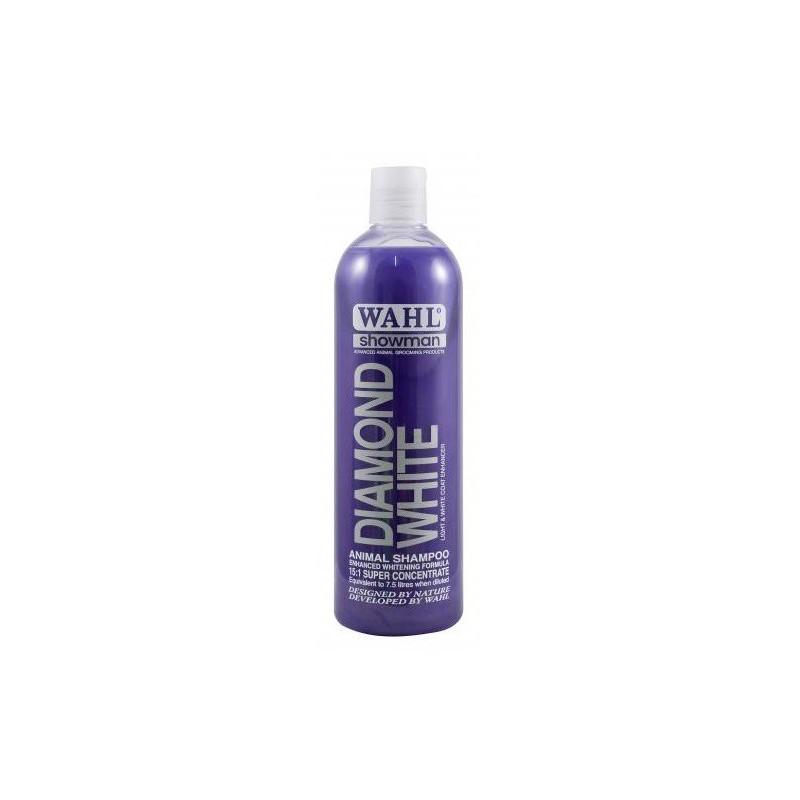 Koncentruotas šampūnas gyvūnams Wahl Pro Diamond White Concentrated Shampoo WAHP2999-7520, 500 ml