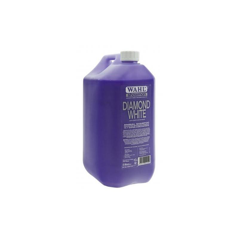Koncentruotas šampūnas gyvūnams Wahl Pro Diamond White Concentrated Shampoo WAHP2999-7570, 5000 ml