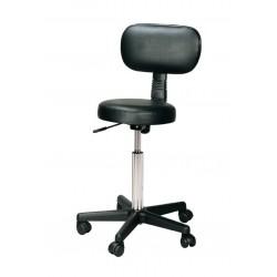 Kirpėjo kėdė su atlošu Comair KMS3070126, juoda
