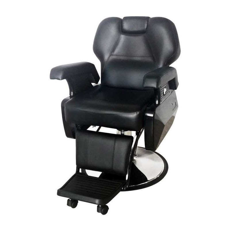 Kliento kėdė kirpėjui Sinelco Original Limousine Barber Chair SIB0190220, tinka barzdai kirpti