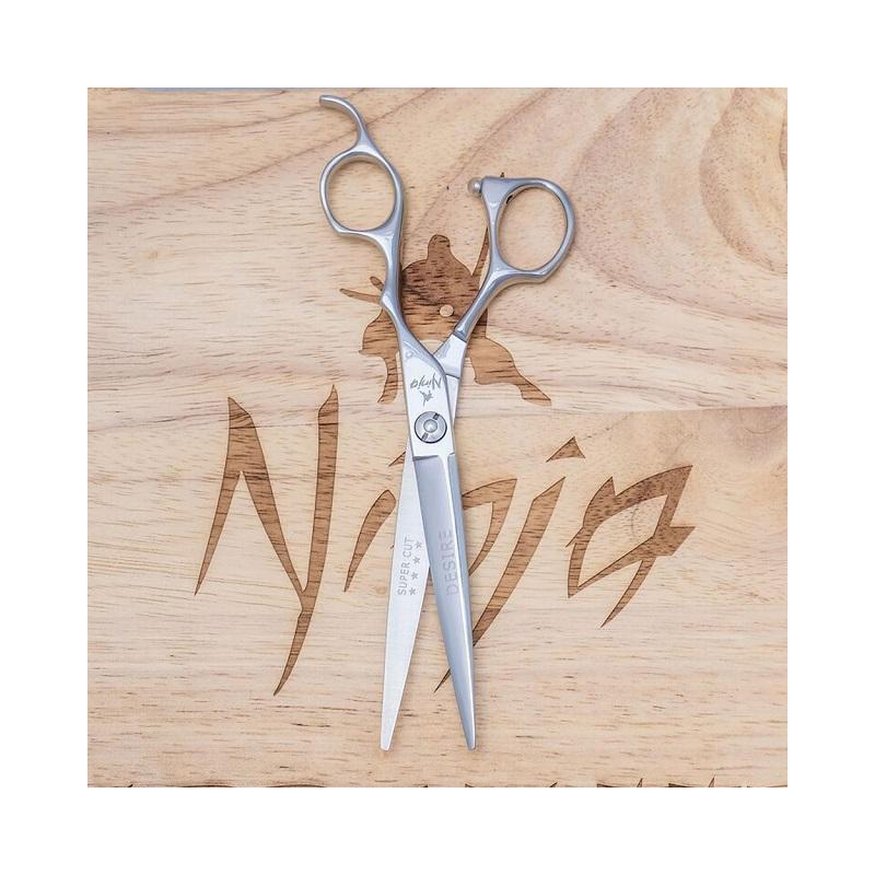 Profesionalios plaukų kirpimo žirklės Ninja Scissors Desire Kenzo NIN12001, ilgis 14 cm, dešinei rankai