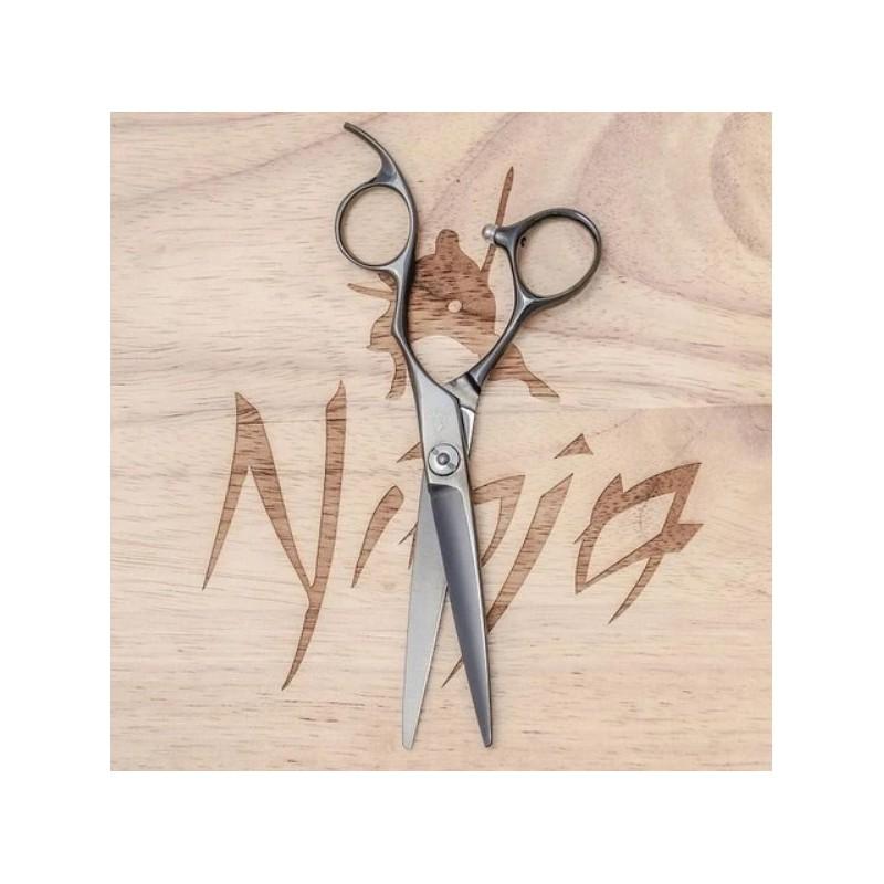 Profesionalios plaukų kirpimo žirklės Ninja Scissors Ghost NIN12009, ilgis 14 cm, dešinei rankai