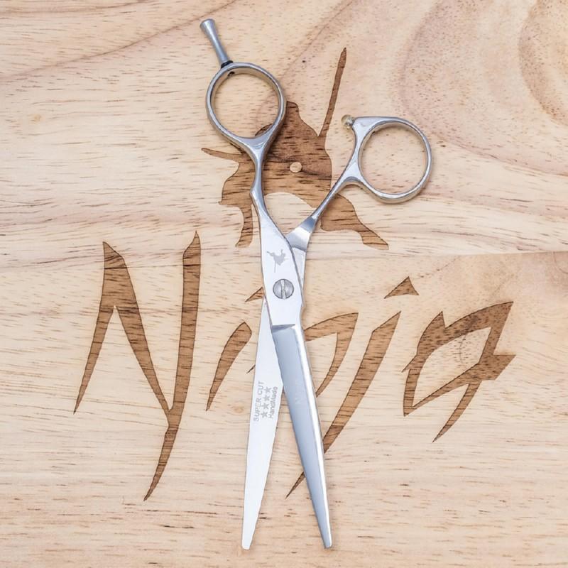 Profesionalios plaukų kirpimo žirklės Ninja Scissors Lite NIN13132, ilgis 14 cm, dešinei rankai