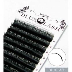 Blakstienos juostelėmis priauginimui Dlux Professional Lash DLDC20MM, audinės tipo, C linkio, 0,20 mm, 12 juostelių