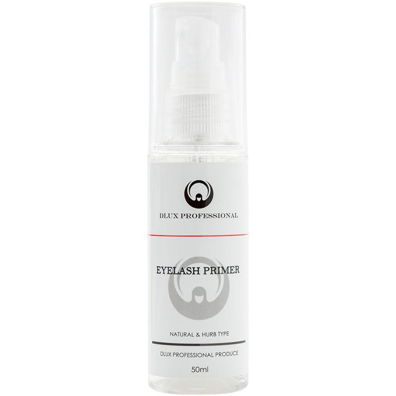 Paruošiamoji priemonė blakstienų priauginimui Dlux Professional Eyelash Primer DLACEP, 50 ml