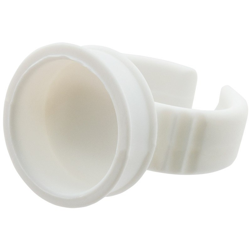 Žiedas blakstienų klijams Dlux DLAGRI100, plastikinis, 1 vnt.