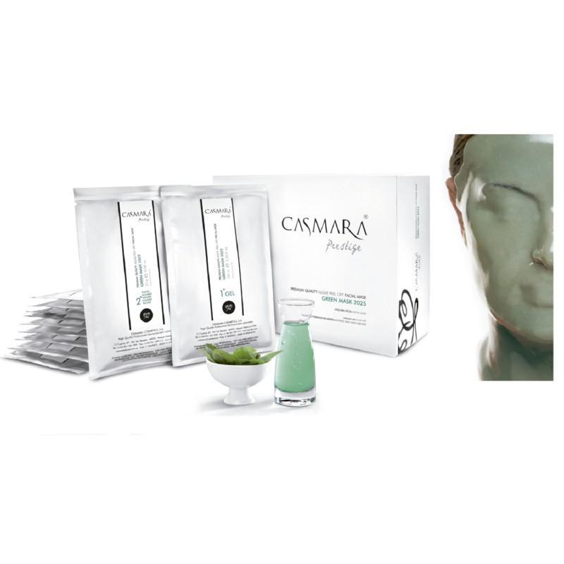 Veido kaukė Casmara Green Peel Off Mask CASA06140, 10 vnt.
