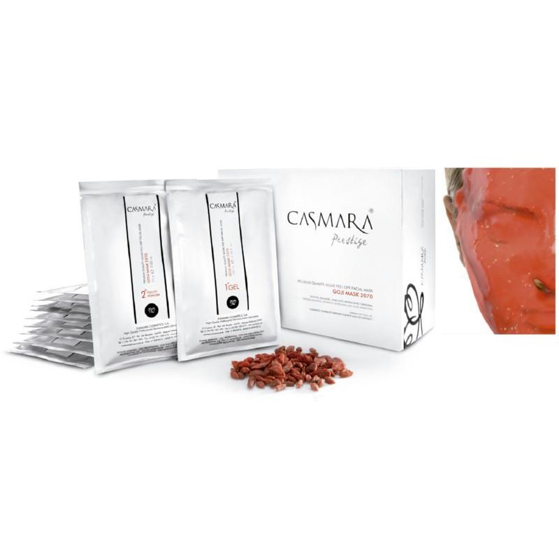 Veido kaukė Casmara Goji Peel Off Mask CASA06149, 10 vnt.