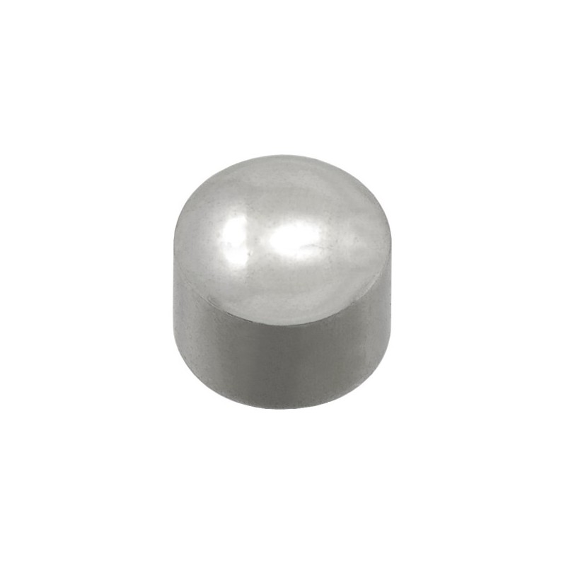 Auskarai Caflon Mini Ball FCSSWM, apvalūs, sidabruoti