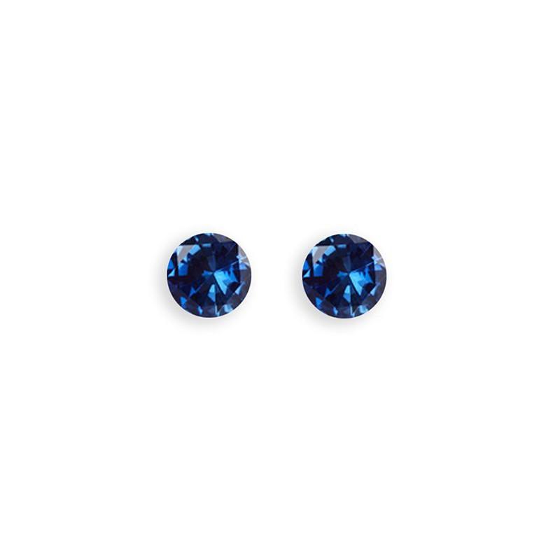 Auskarai Caflon Glitterball Sapphire, CAFFJGB45SAYS, 4.5 mm
