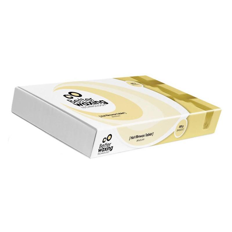 Kietasis braziliškas vaškas plytelėje Better Waxing Technology BW00310, 500 g