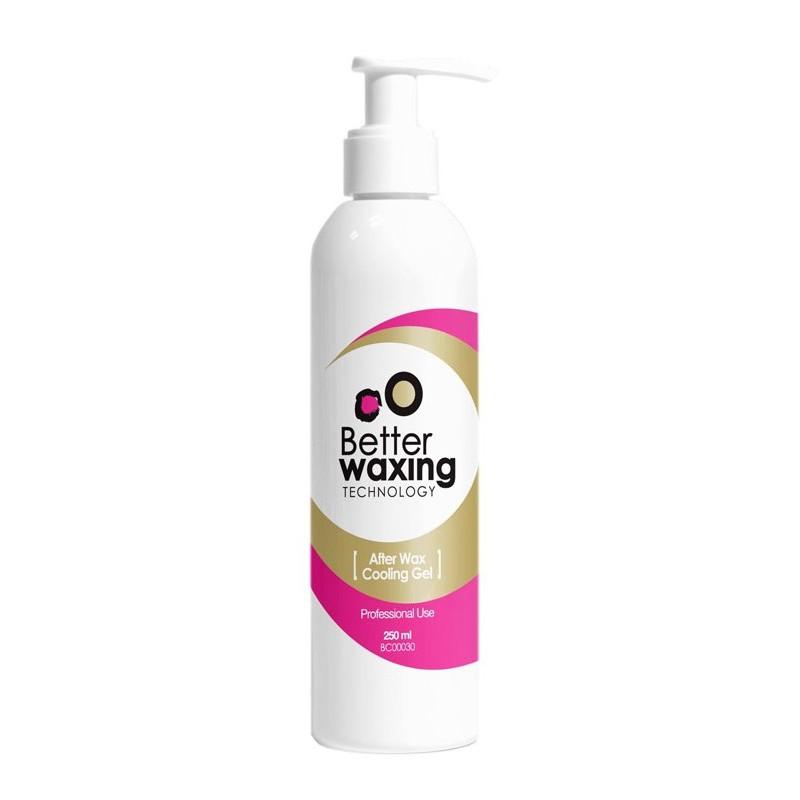 Raminantis ir vėsinantis gelis odai po depiliacijos Better Waxing Technology BC00030, 250 ml