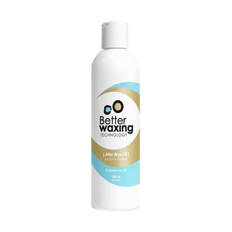 Aliejus po depiliacijos Better Waxing Technology BL00050 su vitaminais ir azulenu, 250 ml